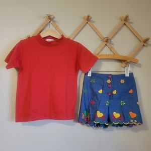 Vintage Girls Outfit